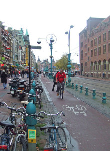 Oh Amsterdam, I miss your socially acceptable cycling lifestyle