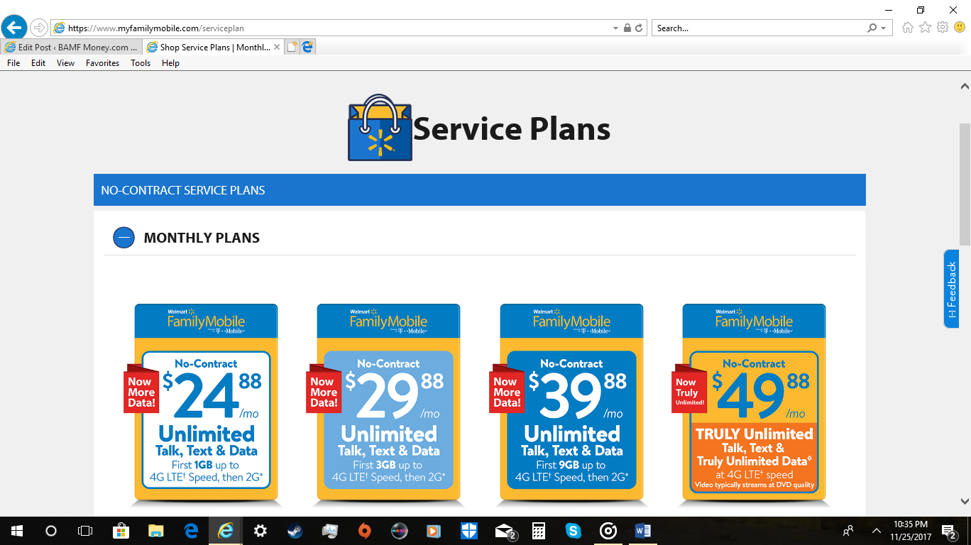 Review: Family Mobile-Another Cheap Cell Phone Plan to